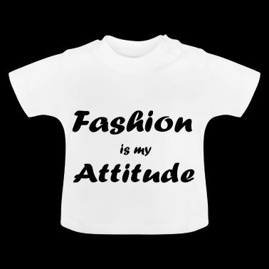 mote - Baby-T-skjorte