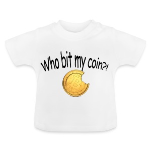 Bitcoin bite - Baby T-shirt
