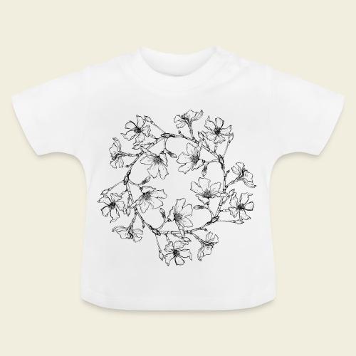 Blütenkreis - Baby T-Shirt