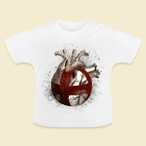 Radball | Cycle Ball Heart - Baby T-Shirt