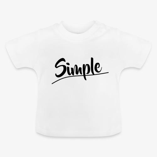 Hettegenser (Svart style logo) - Baby-T-skjorte