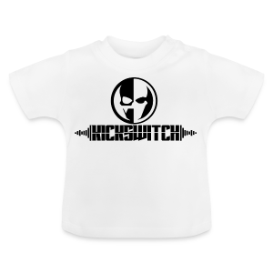 KickSwitch Logo with text - Baby T-Shirt
