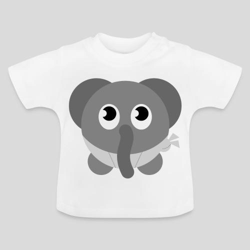 Der schüchterne Elefant - Baby T-Shirt