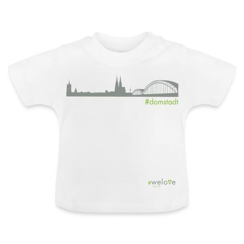 #welove Köln - #domstadt - Baby T-Shirt