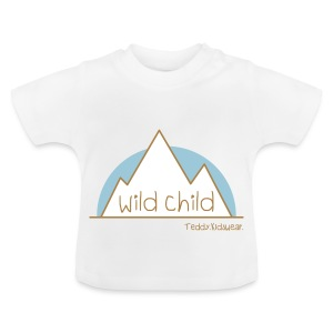Teddy.Kidswear. – wild child - Baby T-Shirt