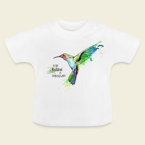 KOLIBRI im Taubenschwarm - Baby T-Shirt