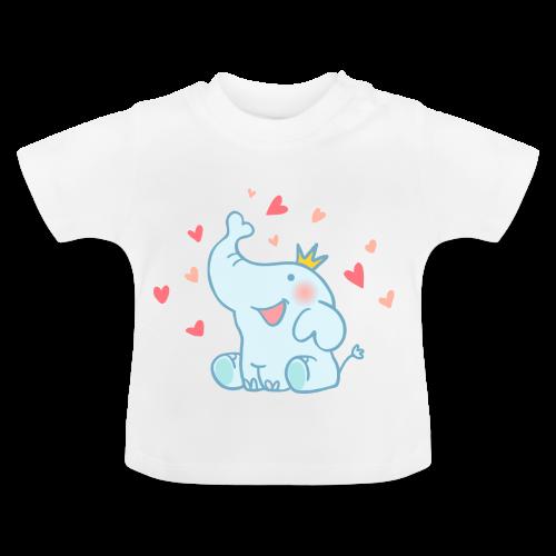 Eléphant amoureux - T-shirt Bébé