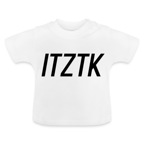 ItzTk black print - Baby T-Shirt