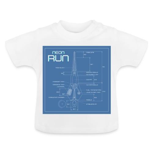 NeonRun blueprint - Baby T-shirt