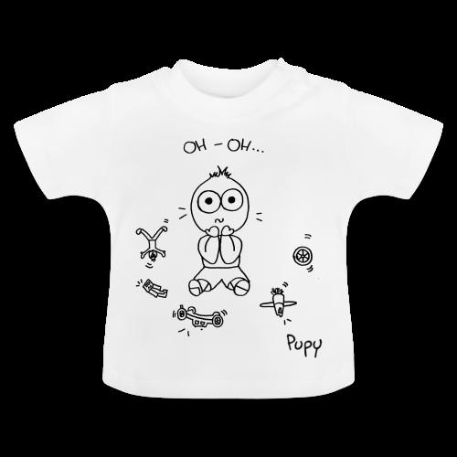 Pupy: oh-oh... - boy - Maglietta per neonato