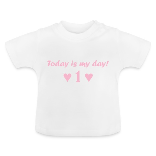 Birthday girl rosa - Baby T-Shirt