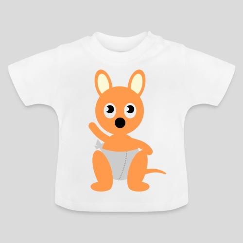 Das hüpfende Känguru - Baby T-Shirt