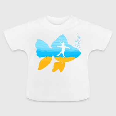 SENSITIVE FISH - Baby T-Shirt