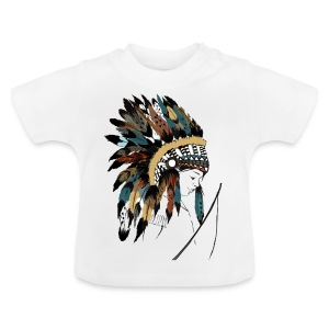 indian boy - T-shirt Bébé
