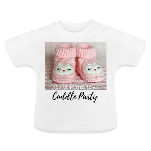 INVITED - CUDDLE PARTY rosa - Baby T-Shirt