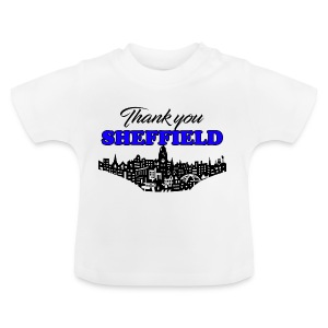 Thank You Sheffield - Baby T-Shirt