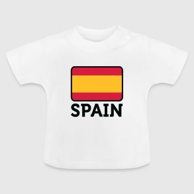 Nasjonal Flagg av Spania - Baby-T-skjorte