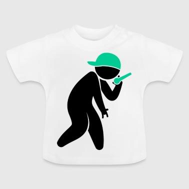 Hiphop Rapper - Camiseta bebé