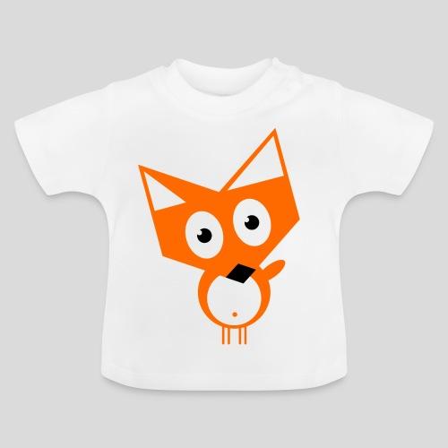 Der neugierige Fuchs - Baby T-Shirt