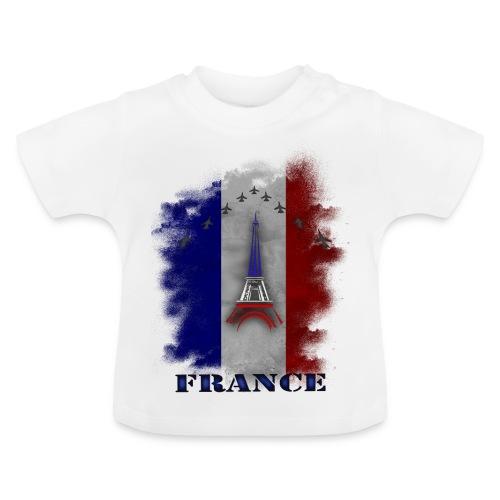 Fandesign Frankreich - Baby T-Shirt