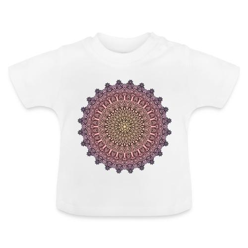 Mandala Sonnenuntergang - Baby T-Shirt