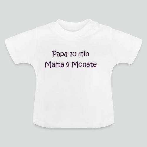 Wer hat wieviel Leistung in mich gesteckt? :) - Baby T-Shirt