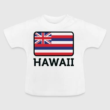 Nasjonal flagg av Hawaii - Baby-T-skjorte