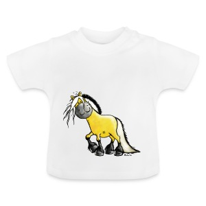 fjord_horse-png - Baby T-Shirt