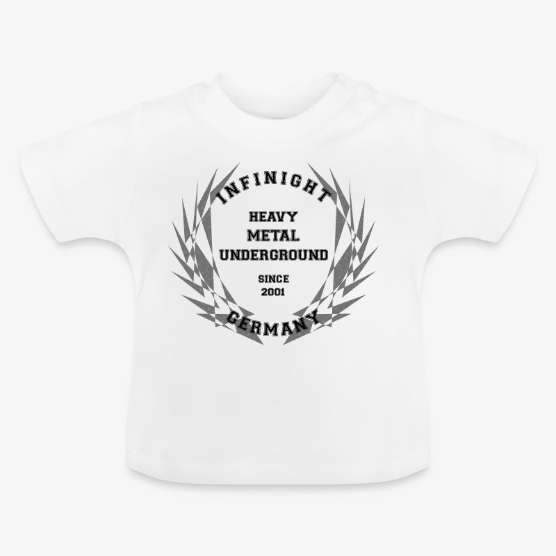 InfiNight College Logo dark used - Baby T-Shirt