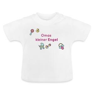 Omas kleiner Engel - für Mädchen - Baby T-Shirt