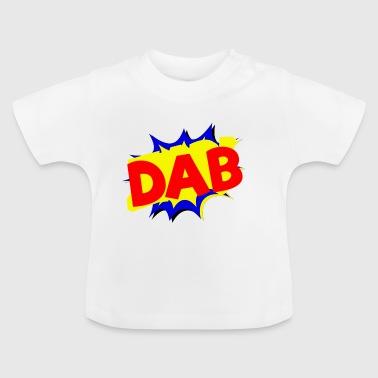 Dab cartoon logo - Baby T-Shirt
