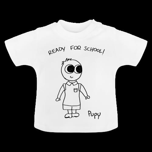 Pupy: ready for school! boy - Maglietta per neonato
