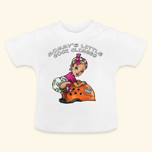 Mommy's little rock climber - baby climber - Baby T-Shirt
