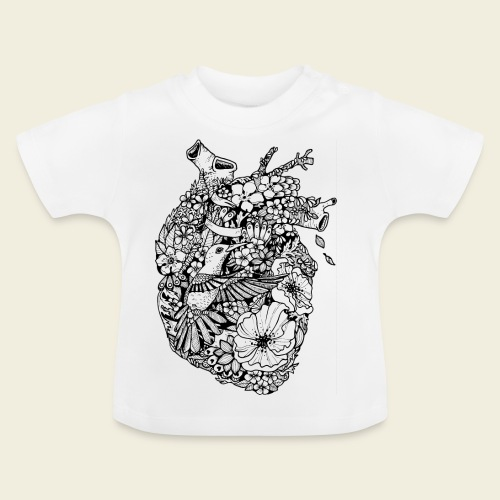 Kolibri Herz - Baby T-Shirt