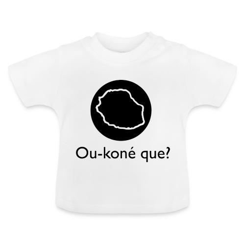 Logo Ou-koné que? - T-shirt Bébé