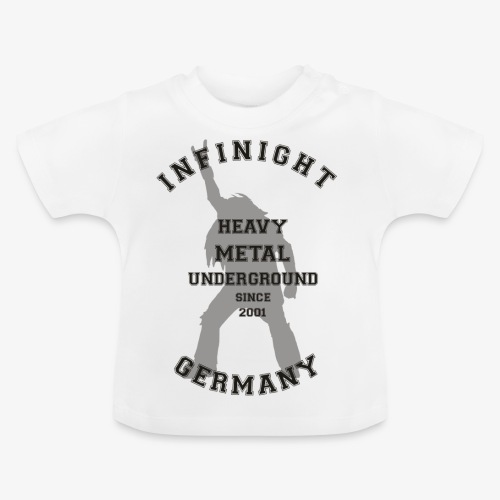 Infinight College headbanger dark - Baby T-Shirt