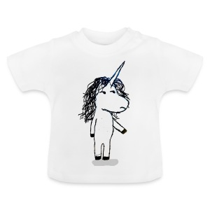 Angry unicorn - Baby T-Shirt
