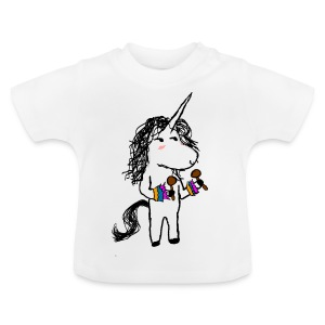 Unicorn Dancer - Baby T-Shirt