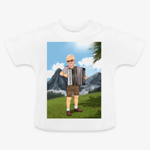 Bauer Adi mit Harmonie - Baby T-Shirt