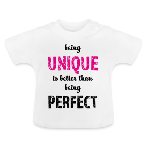 being UNIQUE - Baby T-Shirt