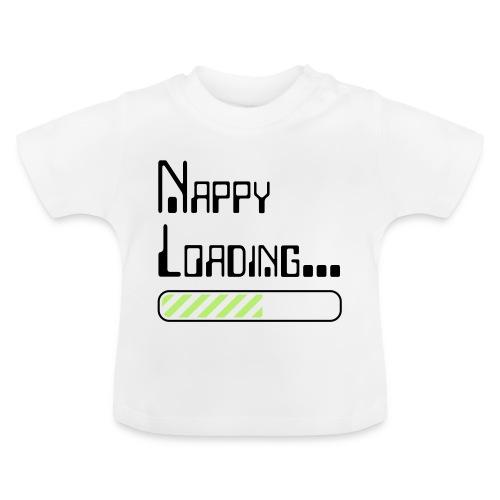Nappy Loading - Baby T-Shirt