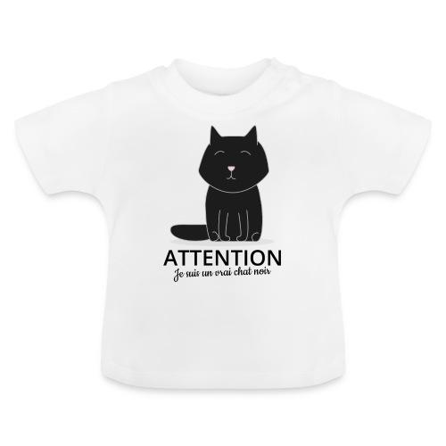 Chat noir - T-shirt Bébé