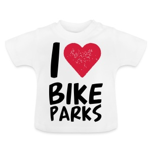 I HEART BIKE PARKS - Baby T-Shirt