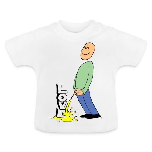 tissekopp farge - Baby-T-skjorte