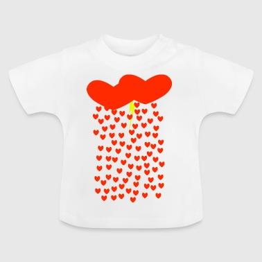 Kjærlighet Storm - Baby-T-skjorte