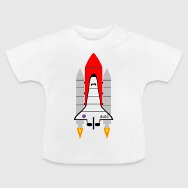 Spaceship - Baby T-Shirt