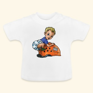Little baby climber 8 - Baby T-Shirt