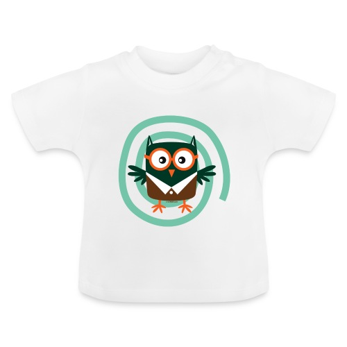 FP10-54 SCHOOL OWL - TEXTILE AND GIFT PRODUCTS - Vauvan t-paita