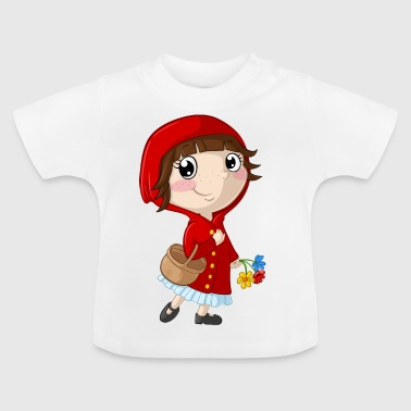 Little Red Riding Hood cartoon - Baby T-Shirt