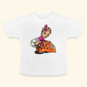 Little baby climber 7 - Baby T-Shirt